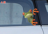 Personalized Sticker Whole Body  1405c 1137920550 car styling 3d three-dimensional frog gekkonidae personalized car stickers mirror garland