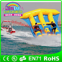 Wholesale Inflatable Water Game Inflatable Flying Fish Towable For Adult Flying Fish Ride