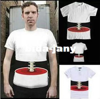Wholesale New Funny Horror male T shirt Man men Print cotton T shirt Creative Halloween D spoof Bones tops Tees S XL NY990