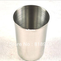Wholesale 5 X Stainless Steel Cup Drinking Beer Coffee Tea Camping Travel Tumbler Mug New