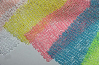 knit fabric - Fabrics Textiles Color light through thin knitted fabric with elastic Black fabric textiles C024