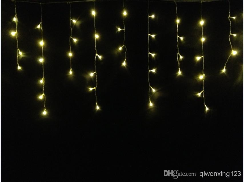 4m led dripping icicle string light 220v cristmas christmas lights. Black Bedroom Furniture Sets. Home Design Ideas