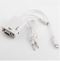 mini sata cable - Mini Usb Limited Hdmi Sata New White Mhl Micro To Vga Cable Adapter mm O Output Galaxy S2 I9100