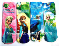 Wholesale 48pairs Frozen Socks Frozen Elsa amp Anna Kids Socks Girls Frozen Princess Frozen Cotton Socks for Children Cute Kids Socks Frozen Socks