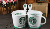 Wholesale Luxury Bone China Starbucks Mugs High Quality Novelty Doomed Ceramic Coffee Cups Fashion Gift Sublimation Tea Cups