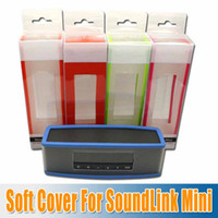 Wholesale 2014 new silicon cases Soft Case for SoundLink Mini Bluetooth speaker protective case new design high quality top hot