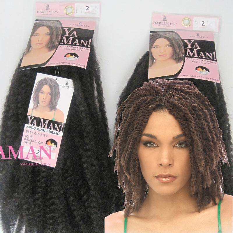 Superb Yaman Afro Kinky Twist Braids 18 Longth 100 Kanekalon Fiber Hairstyle Inspiration Daily Dogsangcom