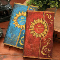 hard cover book - 4 Color Retro Magic Pharaoh Notes Book Hard Cover Magnetic Diary Book Planner Gift SH582
