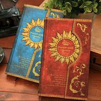 Retro Magic Pharaoh Notebook hard cover book - 4 Color Retro Magic Pharaoh Notes Book Hard Cover Magnetic Diary Book Planner Gift SH582