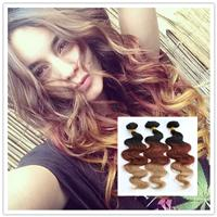 Malaysian Hair Body Wave Body Wave Best Queen Hair Hot sale hair!! 100% Malaysian Virgin Remy hair body wave weft Ombre color #1b#33#27 3 tone colors 3pcs lot in stock