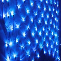 Acheter en ligne Rgb led net-Nouvel An! 6Mx4M 750 LED Net String lumière 220V Cristmas lumières de Noël pour Noël Décoration de fête de vacances Outdoor Livraison gratuite