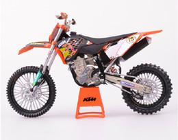 Wholesale moto Toy model motorcycle KTM SX F off road Motorcycle model pattern mould motorbike Toy Vehicles models
