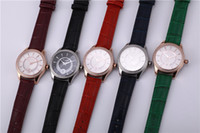 Wholesale Fashion L6812 Quartz watch fashion leather strap waterproof Diamond Ladies Watch