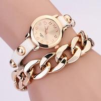 Wholesale hot sale2014 New women vintage leather strap watches bracelet dress watch fashion ladies wristwatch cheap watches