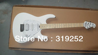 Wholesale Top Quality strings SSH Ernie ball Music Manl signature special white colours Electric guitar with tremolo