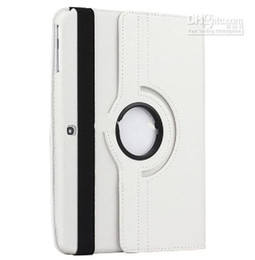 Wholesale For P5200 galaxy tab3 rotating PU leather case cover Smart cases Magnetic samsung tab inch tablet