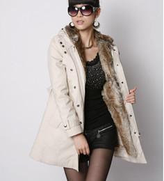 Chaud! Fourrure Faux fourrure femmes Hoodies en fourrure Femmes manteaux hiver chaude manteau manteau de vêtements en coton parkas thermique plus à partir de hoodie de la fourrure pour les femmes fabricateur
