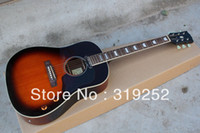 other acoustic guitar styles - High Quality new Style inches G e sunburst red acoustic electric guitar