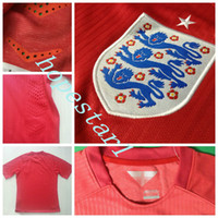 custom clothing - England Soccer Jerseys Football Jersey Uniforms Kits Clothing Discount World Cup T Shirts Cheap Thailand Custom Tops Sets Authentic Red