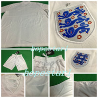 football set - England Soccer Jerseys Football Jersey Uniforms Kits Clothing Discount World Cup T Shirts Cheap Thailand Custom Tops Sets Authentic Shorts