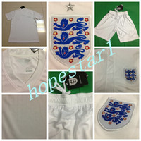 Soccer authentic clothing - England Soccer Jerseys Football Jersey Uniforms Kits Clothing Discount World Cup T Shirts Cheap Thailand Custom Tops Sets Authentic Team