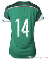 Customized AAA Thai Quality 2014 Mexico #14 CHICHARITO Women...