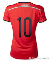 Customized Thai Quality Mexico 2014 Women's Red Away Soccer ...