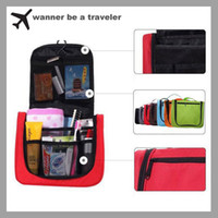 Wholesale Fashion Lightweight Travel Toiletry bag Cosmetic Make Up Storage Purse Zipper Organizer waterProof Bag