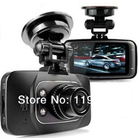 Wholesale HD P Car DVR Vehicle Camera Video Recorder Top Quality New Digital Dash Cam HDMI G sensor GS8000L pc singapore post free