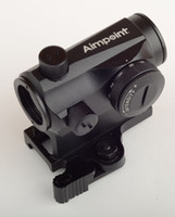 aimpoint - Quick Release Aimpoint Micro T x24 Red Green Dot Scope Black with Riser Mount