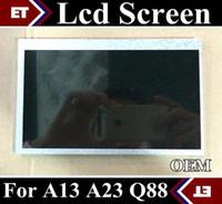 Comprimé q88 allwinner Prix-SGpost de 7 pouces Q88 Remplacement Écran LCD Écran Numériseur pour 7inch Allwinner A13 A23 Q88 Tablet PC OEM Livraison Gratuite TC8