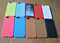 TPU air jelly - 4 Offical Dot Square TPU Silicone gel rubber soft Case Colorful jelly skin cover case For iphone Air G TH iphone6