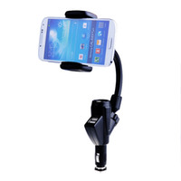 Wholesale New Car Cigarette Lighter Mount Holder Charger for Samsung Galaxy S5 S4 S3 Note