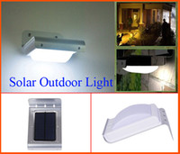 ip motion activated sound - Solar motion lamp LED lights energy saving outdoor garden wall Ray Sound Sensor Activated light Waterproof for