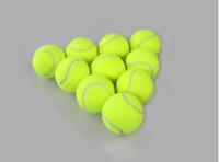 Wholesale Tennis Training Balls cost effective Outdoors Racquet Sport Supplies Good elasticity Tennis Ball No logo bulk goods