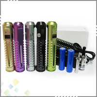 lavatube - Huge Vapor Tesla Variable Voltage Ecig Lavatube Tesla Kit with Battery DHL Free