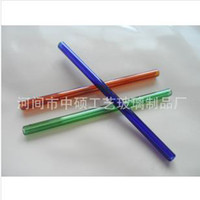 Acrylic acrylic tube fittings - Colored glass tube diameter of mm length cm glass water pipes fittings