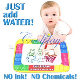 Wholesale X19cm CP1366 color Water Drawing Toys Mat Aquadoodle Mat Magic Pen Water Drawing board baby play mat