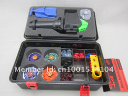 Wholesale hot sell beyblade set more that spare parts beyblades handles launchers beyblade box