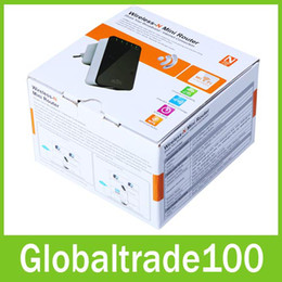Wholesale 300Mbps b g n M wifi Extender Network Mini Router wi fi Finders US EU UK Plug Free DHL