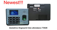 Wholesale Biometric Fingerprint Terminal Time Attendance TX628 with USB And TFT screen Time Clock