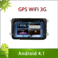Wholesale Sales Capacitive Screen Pure Android PC Car DVD for Volkswagen MAGOTAN Android Car DVD GPS Player G Wifi