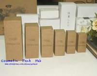 Wholesale 30ml Essential Oil Bottle Packaging Box Kraft Paper Cosmetic Bottle Container Boxes