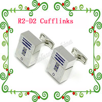 Wholesale New arrival R2D2 USB Cuff Links Flash Drive Memory New Star Wars R2D2 GB USB Cufflinks Popular DesignUSB Cufflinks R2 D2 Cufflinks China