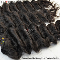 100g Brazilian Hair Natural Color Free Shipping 4Pcs Lot Brazilian Virgin Hair Deep Wave,Full and Thick Human Hair Bundles,Large Stock