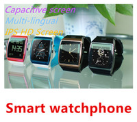 SW88804   2014 New Style Hi Watch Capacitive screen Remote Control Camera Smartphone Bluetooth Watchphone for iphone 4 4s 5S 5 Android Phone
