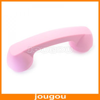 Wholesale Wireless Bluetooth Anti radiation Retro Telephone Receiver Handset Earphone For iPhone Samsung Mobilephone