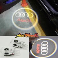 Wholesale Addmotor X Laser LED Car Door Light For Audi Sline A4 A5 A6 Q5 Q7 TT R8 Lamp C1666