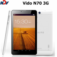 Wholesale Original Vido N70 G Tablet PC MTK8312 Dual Core quot Android px MB RAM GB ROM Yuandao White