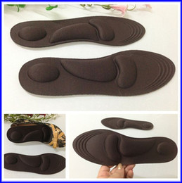 Wholesale Men Women Size Massage Sponge Insole Shock Absorption Sport Shoes Pad Arch Support Insoles